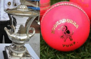 Duleep Trophy with ball