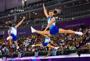 Azerbaijan athlete European Games