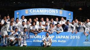 Real Madrid won FIFA Club World Cup