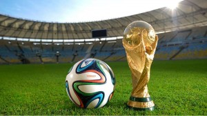 FIFA World Cup Trophy with Ball