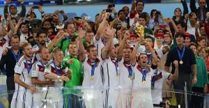 Germany Celebrating won FIFA World Cup