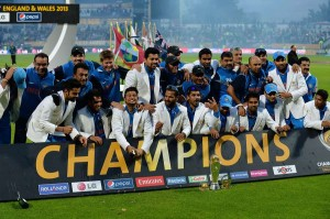 India winning ICC Champions Trophy 2013