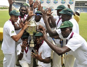 Jamaica celebrate Winning Regional Four Day Competition