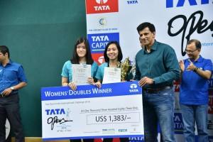 Mychelle Bandaso & Serena Kani won the Women's Doubles Matches