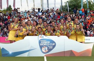 ESP V AUS, Junior Women World Cup