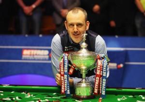 Mark Williams winning the championship