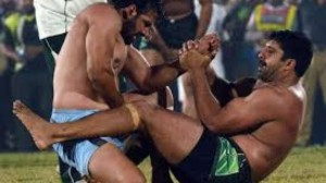 India Vs. Pakistan Kabaddi match