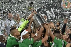 con la Copa Libertadores