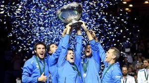 Argentina won Davis Cup