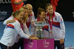 Czech Republic won Fed Cup
