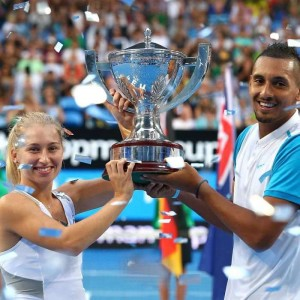 Nick Kyrgios and Daria Gavrilova