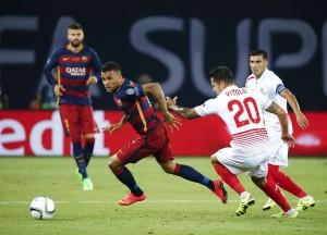 Barca beats Sevilla in Super Cup