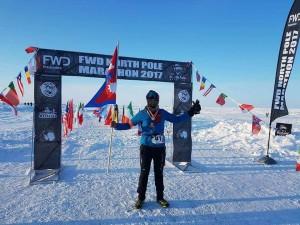 2017 North Pole Marathon in North Pole