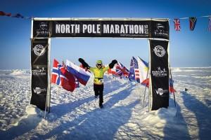 San Diego Woman runs the North Pole Marathon
