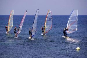 windsurfing sport
