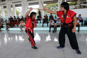 arnis stick fighting