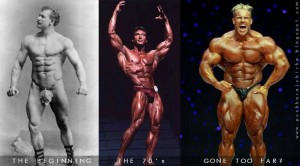 growth of body building