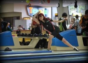 Tyla Trenham competing at Gold Coast Junior Youth Championships