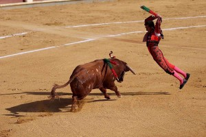 Bullfighting game