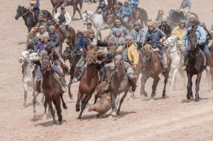 buzkashi game in Nochi