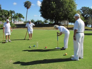 Croquet on Useppa Island