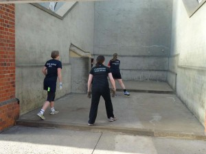College level competition of Eton Fives