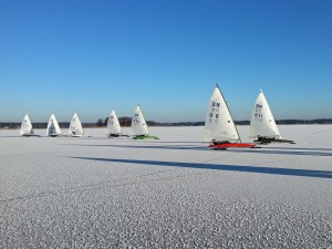 Ice Sailing in Latvia
