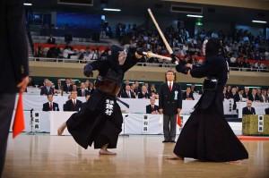 kendo fight