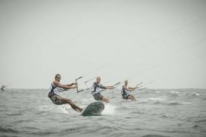 kiteboarding athlete