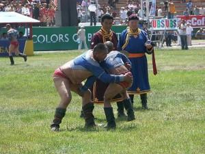 Naadam festival Wrestling