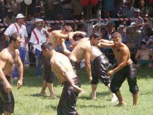 oil wrestling tournament
