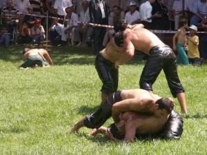 oil wrestling rules