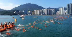 Open Water Mass Swimming World Series