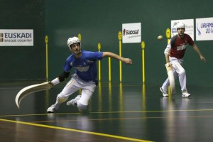 match of Basque Pelota