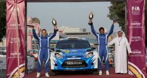 Abdulaziz Al-Kuwari and Killian Duffy