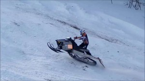 Snowmobile Hill Climb Competition