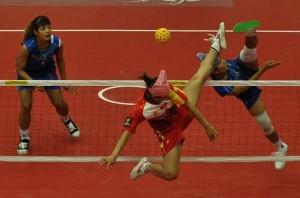 Thailand Vs. Vietnam sepak takraw