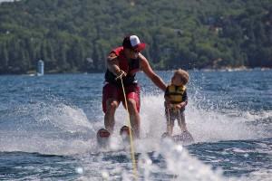 Water ski kids