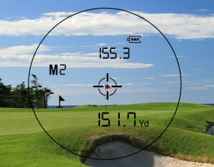 Data analysation by Golf Rangefinder