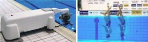 Twin camera view Technology in Swimming