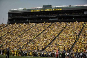 Autzen Stadium Seating