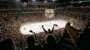 Bridgestone Arena Seating View