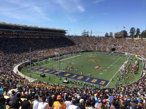 California Memorial Stadium seating