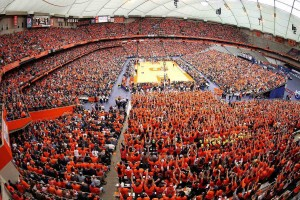 Carrier Dome seating view