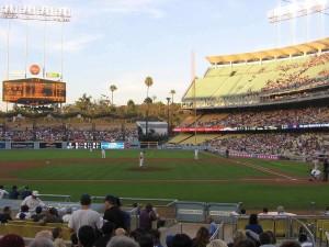 Dodger Stadium Seating
