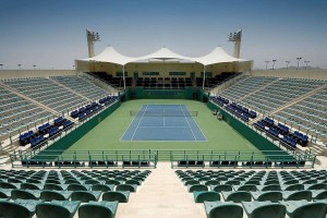 tennis stadium in dubai