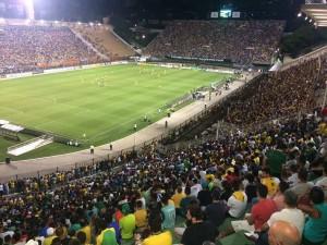 Pacaembu Stadium Sao Paulo