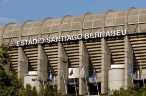 Estadio Santiago Bernabeu Madrid Espana