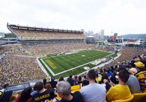 heinz field seating