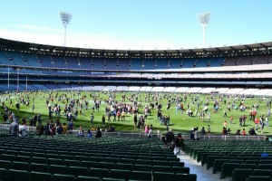 Visitors at MCG
